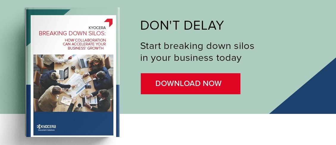 Break down business silos eBook