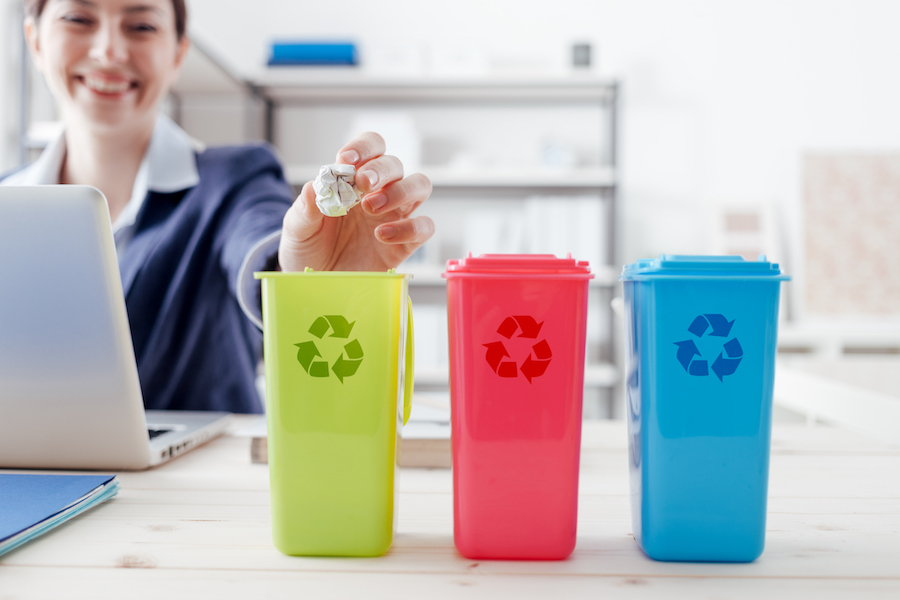 How to implement a corporate recycling program