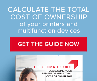 Printer TCO Guide : Calculate your multi function devices' total cost of ownership